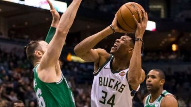 NBA: Boston Celtics at Milwaukee Bucks